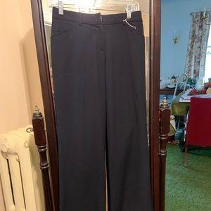 Worthington petite stretch, navy dress slacks 6P